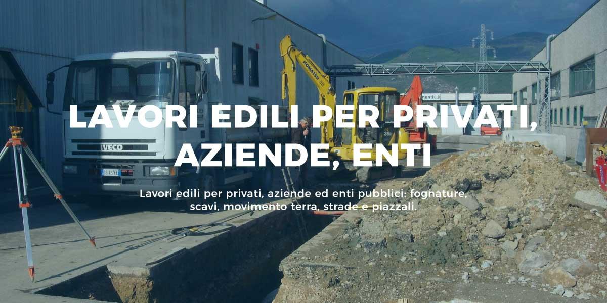 Lavori edili per privati aziende enti a Ponsacco Pisa Livorno
